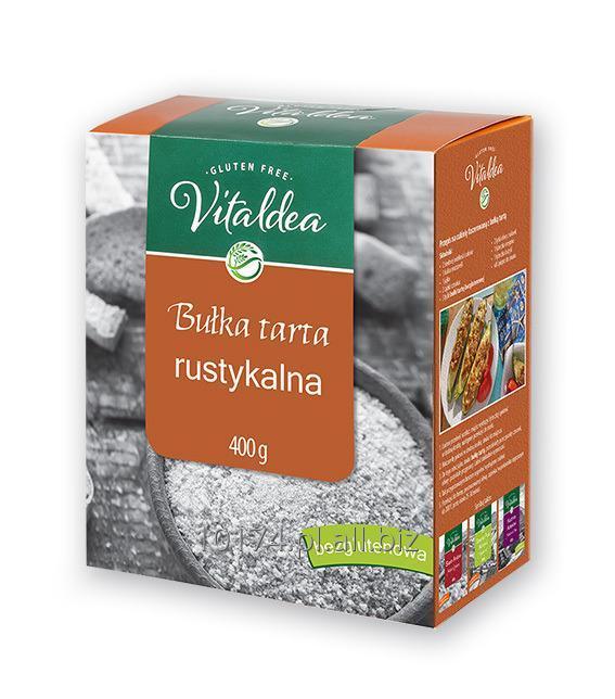 Kupić Vitaldea Bułka tarta rustykalna 400g. Produkt bezglutenowy
