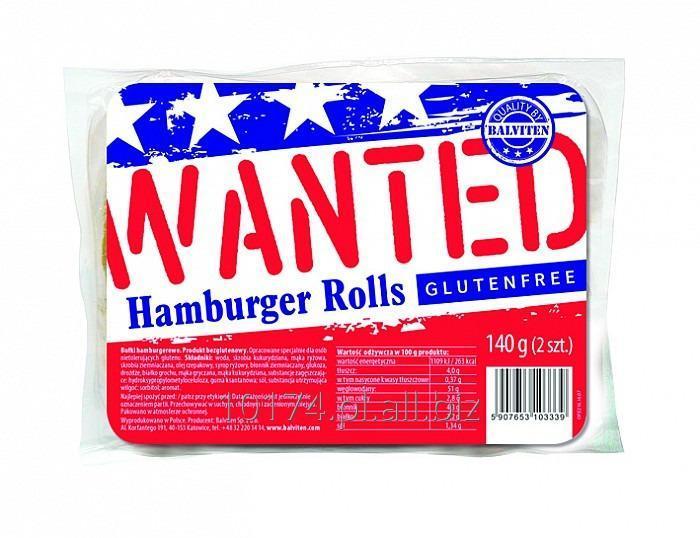 Kupić Bułki hamburgerowe 2x70g. Produkt bezglutenowy