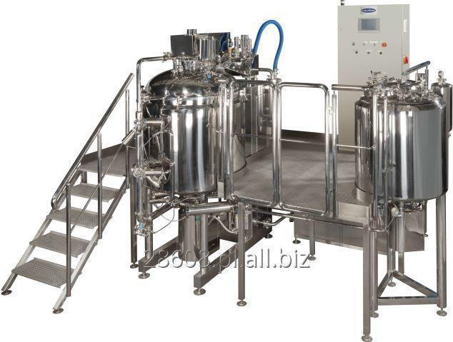Kupić Linia do produkcji wyrobów farmaceutycznych o wysokiej lepkości