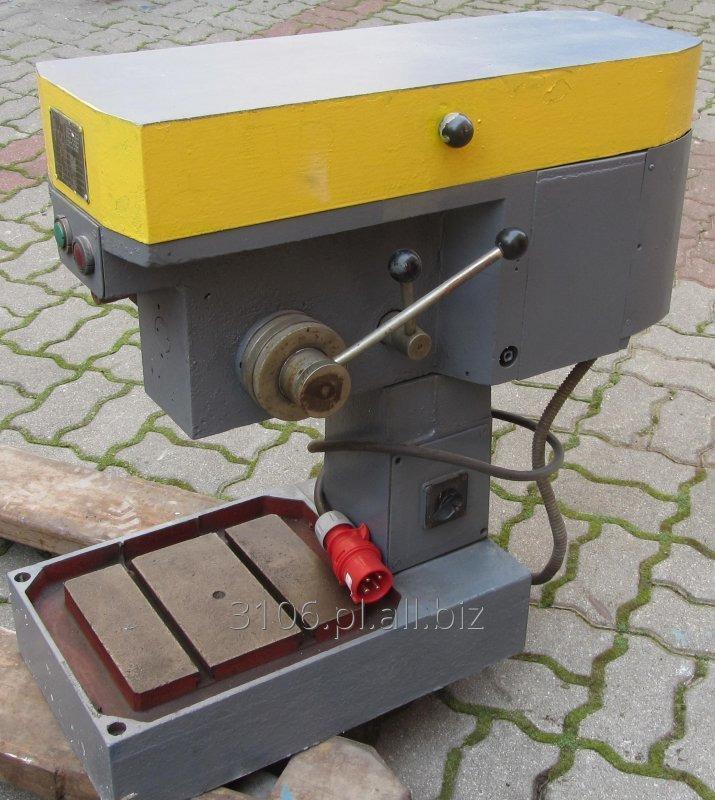Kupić Używana wiertarka stołowa WSD-16 A2 z silnikiem SKf80-4B o mocy 0,75/0,6 kW