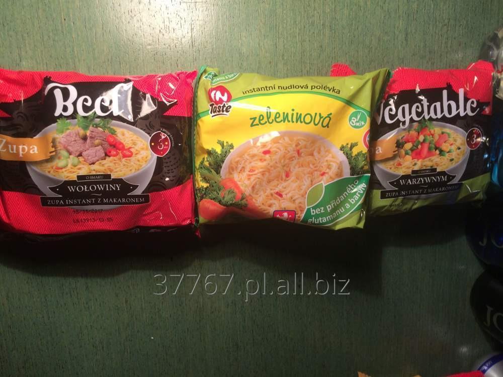 Kupić Zupy instant z makaronem (tzw. zupki chińskie)