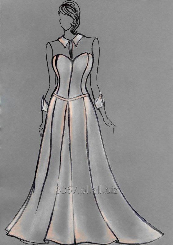 Kupić Suknia ślubna plus size dla puszystej kobiety, modelująca sylwetkę i podtrzymująca biust.