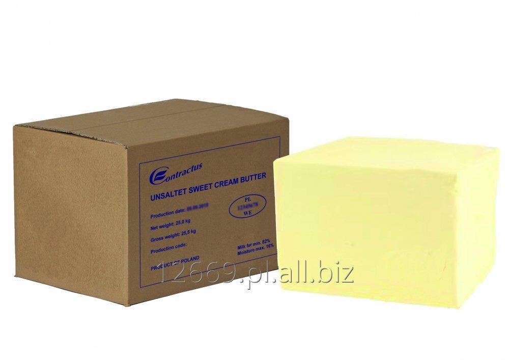 Kupić Masło ze słodkiej lub zakwaszonej śmietanki 82%