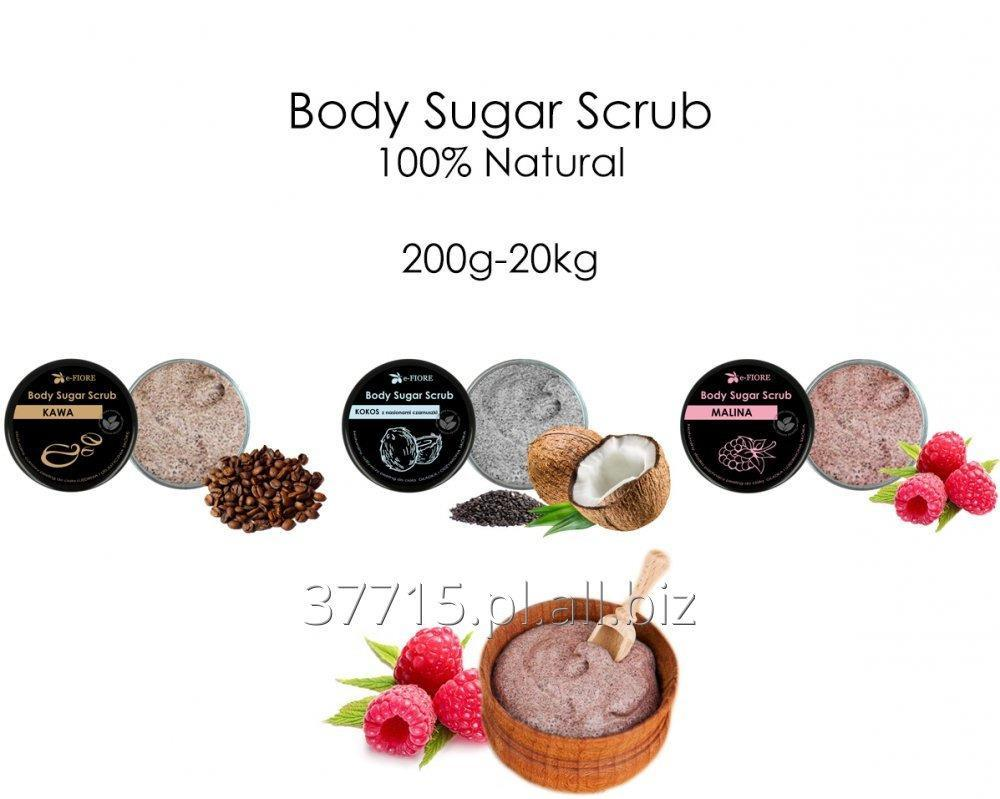Kupić Body Sugar Scrub 200g-20kg 100% Natural