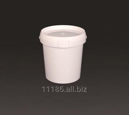 Kupić Wiadro plastikowe okrągłe z pokrywką W 0,75 wyposażone w plombę centralną i rant zabezpieczający przed niekontrolowanym otwarciem