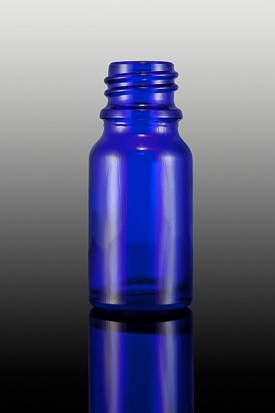 Butelka okrągła szklana