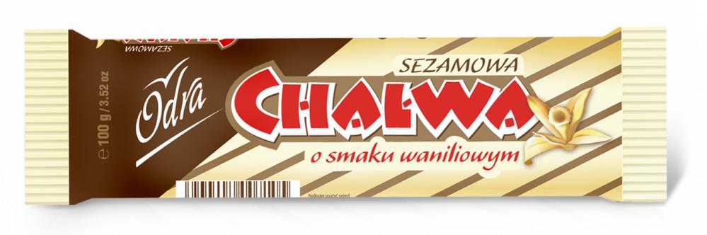 Kupić Chałwa waniliowa, baton 100 g