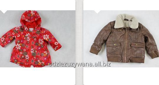Kupić Używane kurtki dziecięce, kurteczki zimowe i przejściowe, odzież second hand dla dzieci.