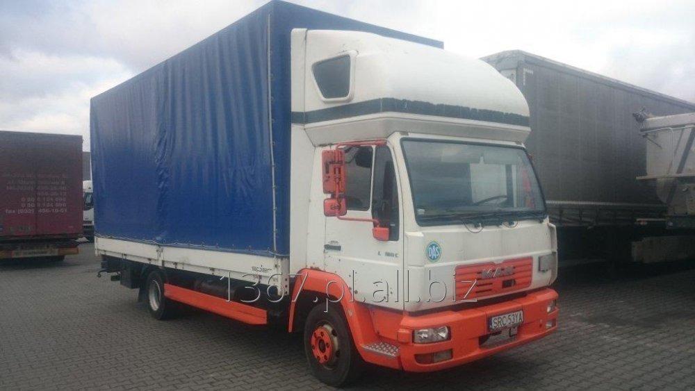 Kupić Ciężarówka plandeka MAN LE 8.185