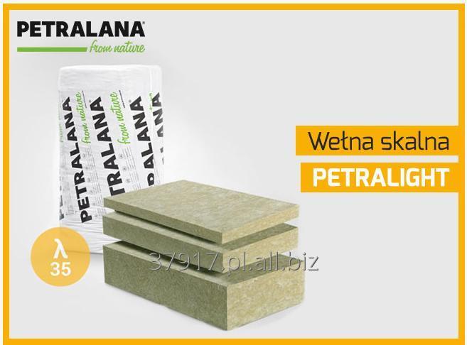 Kupić Tania wełna mineralna, skalna, Petralight lambda 035 w/mK, jakość jak Rockwool.