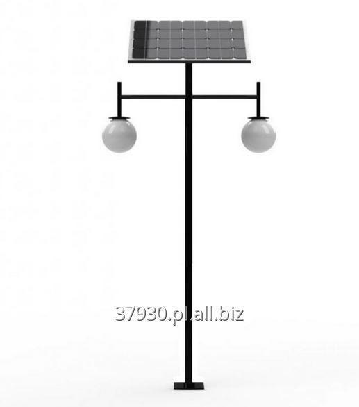 Kupić Nowoczesna i funkcjonalna lampa solarna LED ED 2 x 7W, wysokość 4 m