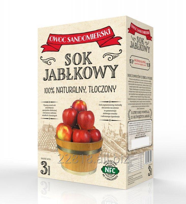 Kupić Sok jabłkowy tłoczony karton bag-in-box