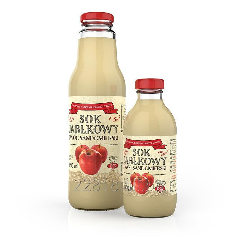 Kupić Sok jabłkowy tłoczony butelka 330ml, 750ml