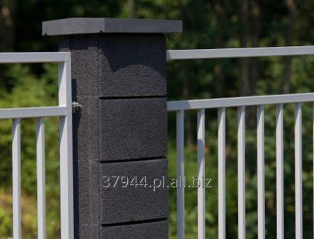 Kupić Elementy ogrodzenia o zaokrąglonych ściankach system OVAL