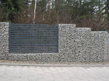 Kupić Gabiony ogrodzenie zbudowane z koszy gabionowych