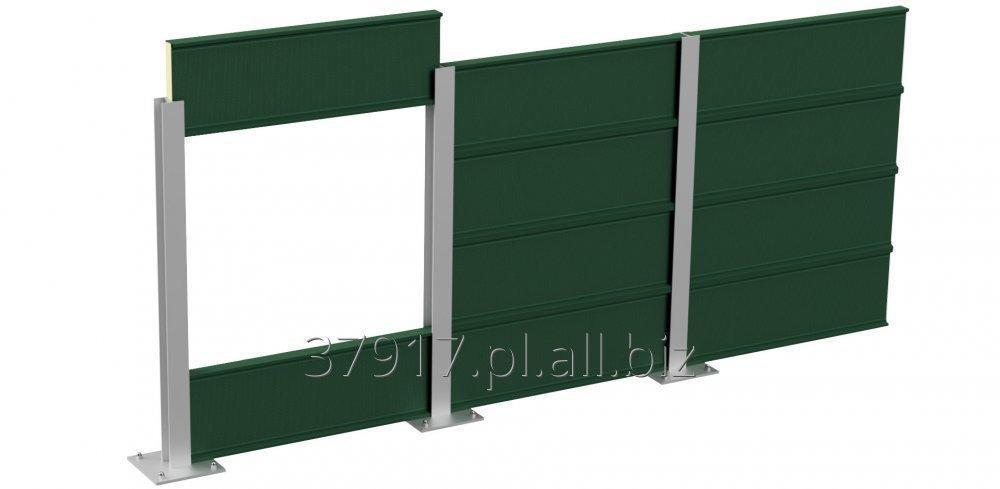 Kupić Metalowy panel akustyczny do ekranów dźwiękochłonnych model ACX / ALX 160