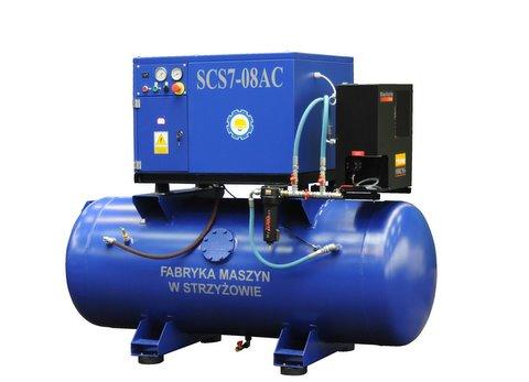 Kupić Sprężarki śrubowe SCS w wersji kompaktowej od 4 kW do 15 kW
