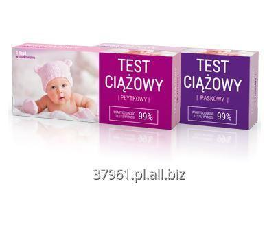 Kupić Testy ciążowe płytkowe i paskowe produkowane w Polsce