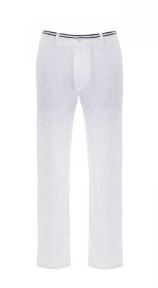 Kupić Feraud - białe lniane spodnie