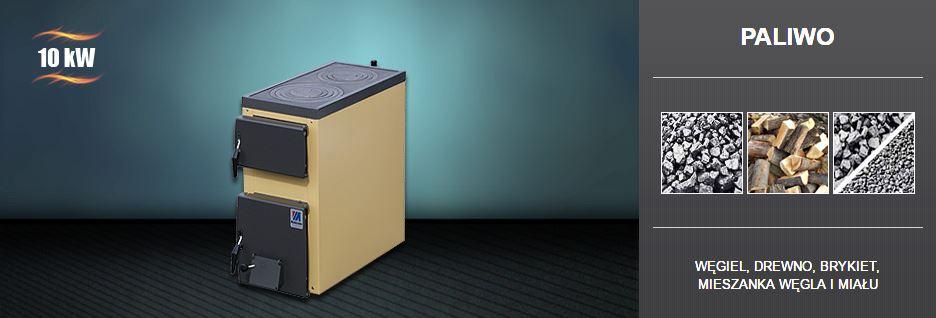 Kupić Piecokuchnia o mocy: 3-5 kW, 10kW, kocioł dwufunkcyjny przeznaczony do podgrzewania wody do temperatury maksimum 90°C w instalacjach centralnego ogrzewania i ciepłej wody użytkowej