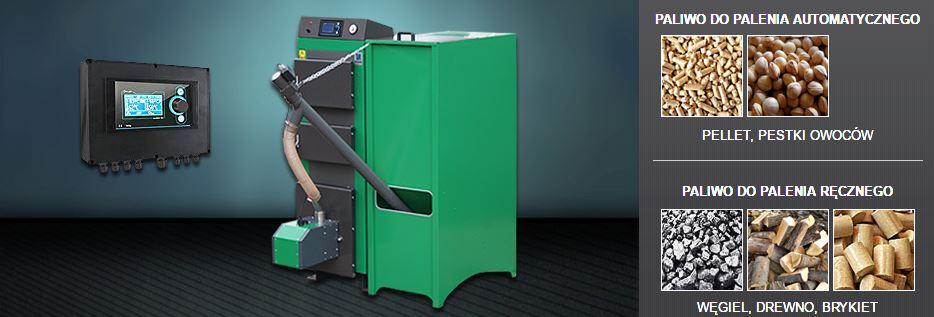 Kupić VENTO BIO Urządzenie o mocy: 15kW, 20kW, 25kW, 35kW, 50kW uniwersalny zestaw do spalania paliw stałych w systemie automatycznym oraz ręcznym
