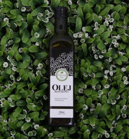 Kupić Olej rzepakowy tłoczony na zimno 500ml