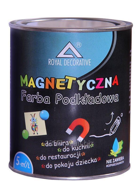 Kupić  FARBA MAGNETYCZNA do tablic ścian - Royal Decorative 0,75L