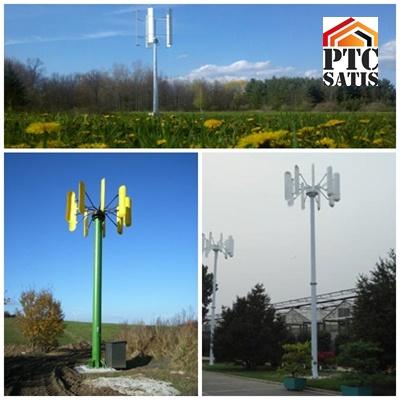 Kupić Pionowe siłownie wiatrowe o różnej mocy (VAWT)