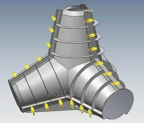 Kupić Formy stalowe EW 1,5 do produkcji gwiazdoblokw - nowe