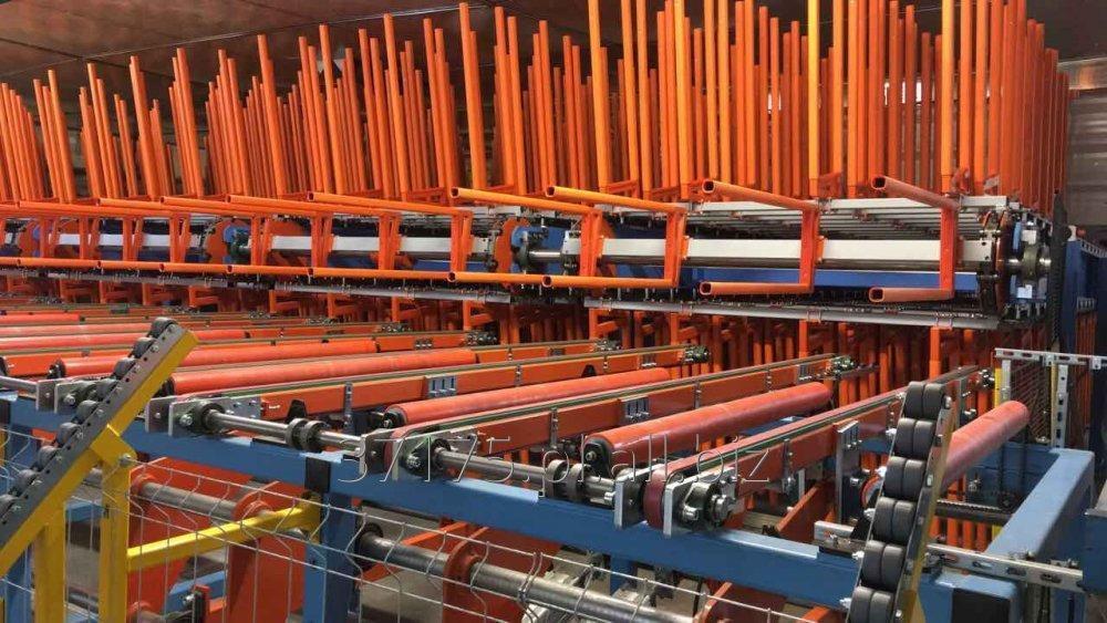 Kupić Cooling System na linii do produkcji płyt warstwowych z rdzeniem poliuretanowym (PU) wraz z montażem i uruchomieniem linii, magazyn chłodzenia.