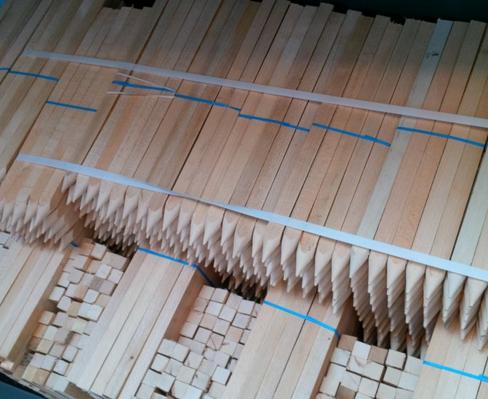 Kupić Paliki, kołki, z drewna liściastego do pomiarów, producent.