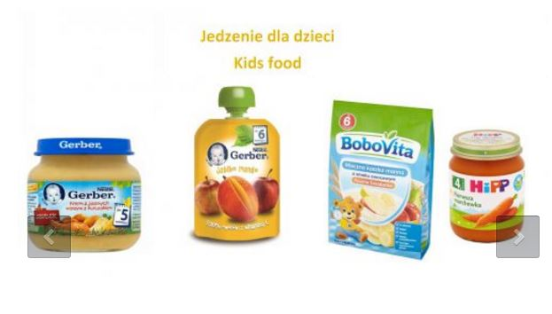 Kupić Jedzenie dla dziecka