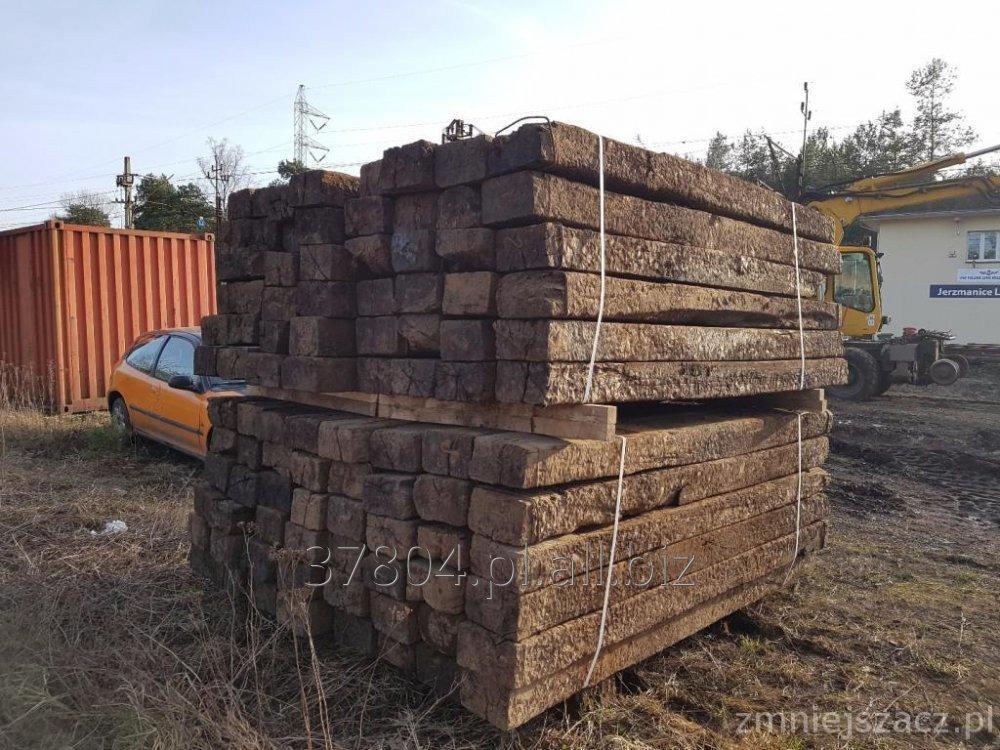 Kupić Drewniane podkłady kolejowe