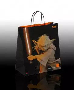 Kupić Ekskluzywne torebki papierowe z nadrukiem flexograficznym