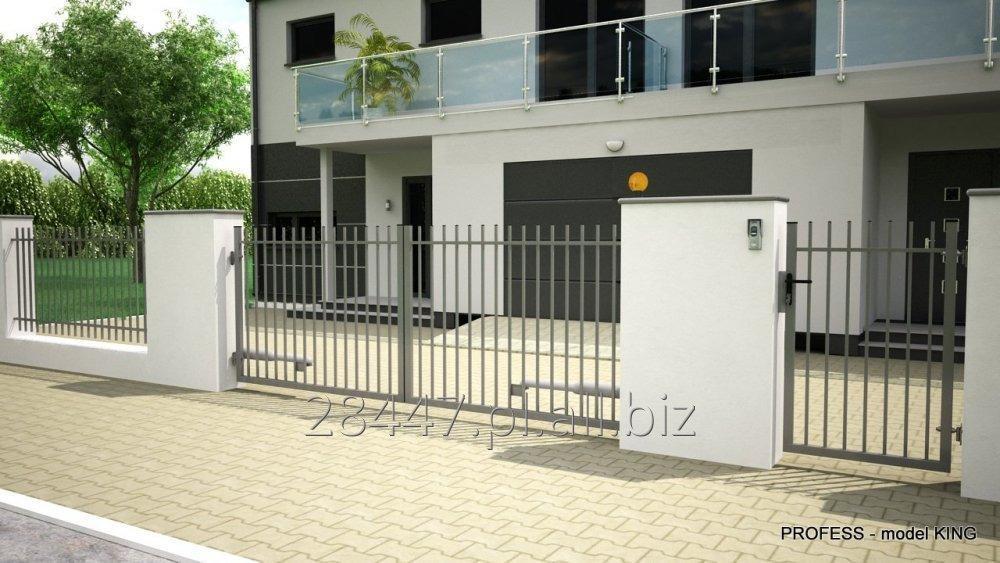 Kupić System ogrodzeniowy KING - bramy, furtki, przęsła