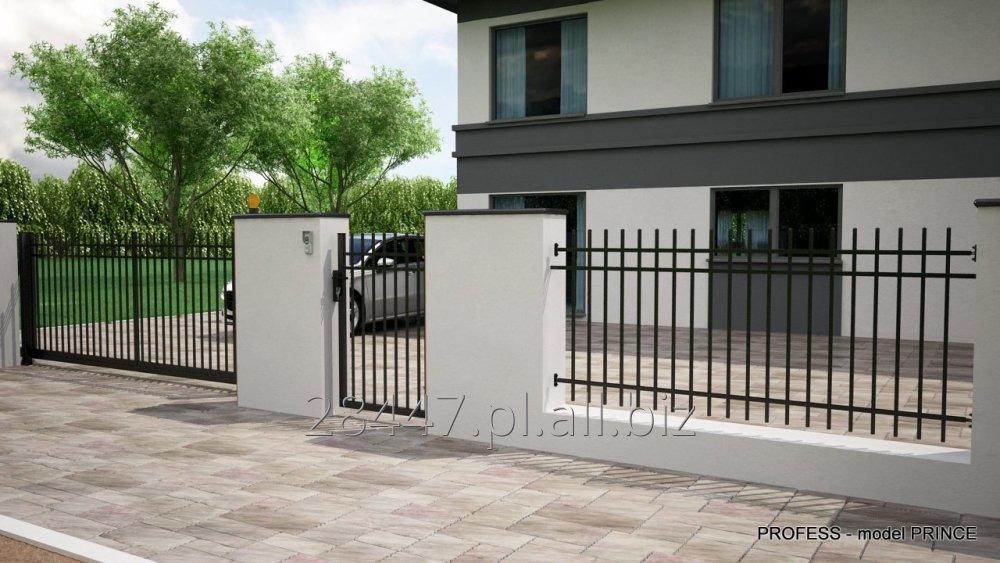 Kupić System ogrodzeniowy PRINCE - bramy, furtki, przęsła