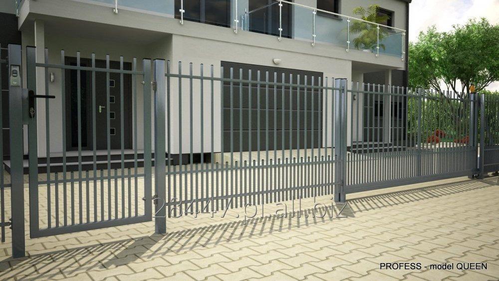 Kupić  System ogrodzeniowy QUEEN - bramy, furtki, przęsła