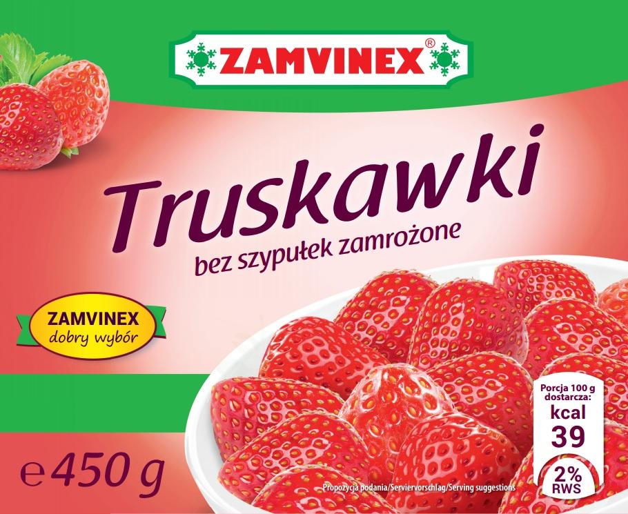 Kupić Truskawki mrożone Zamvinex