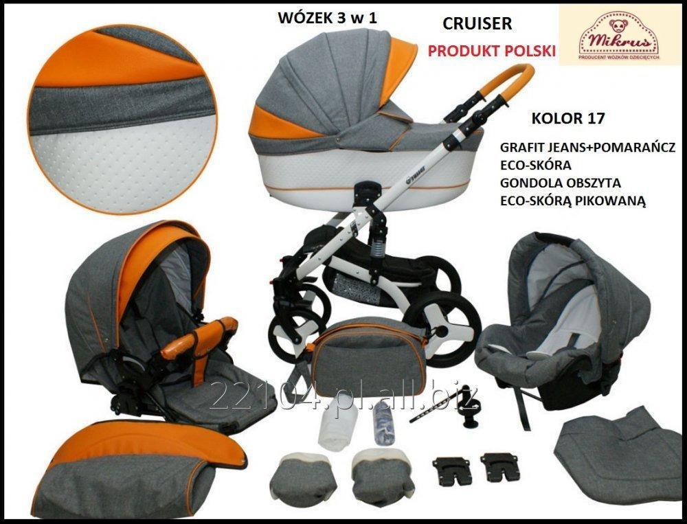 Kupić Wózek 3w1 CRUISER