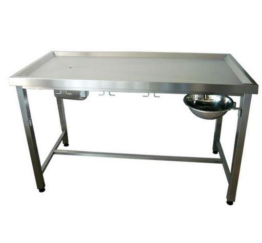 Kupić Stół zabiegowy profilowany zagłębiony dla najwyższej jakości obsługi pacjentów lecznic weterynaryjnych