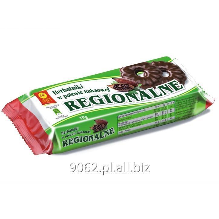 Kupić Herbatniki w polewie kakaowej Regionalne 79 g