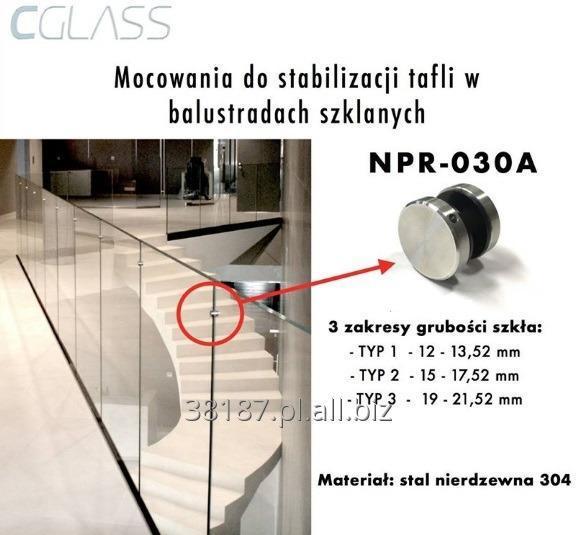 Kupić Mocowania do stabilizacji tafli w balustradach szklanych
