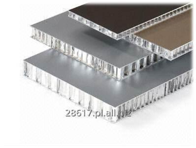 Kupić Panel aluminiowy z wypełnieniem typu plaster miodu Honeycomb