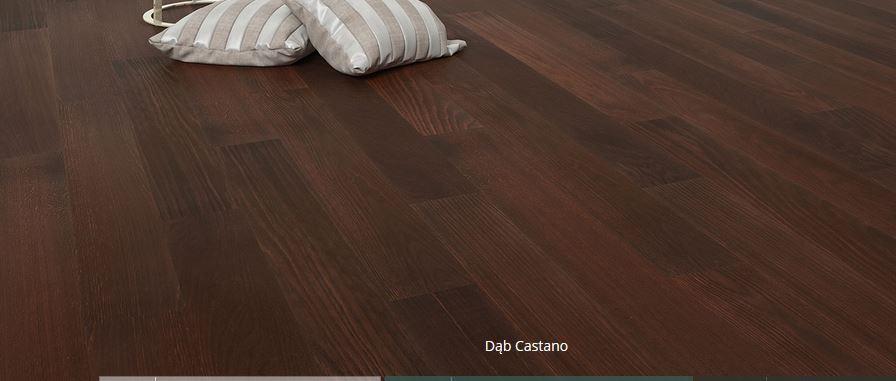 Kupić Deska podłogowa dębowa Dąb Castano