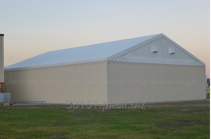 Kupić Stabilne i wytrzymałe hale namiotowe odporne na warunki atmosferyczne
