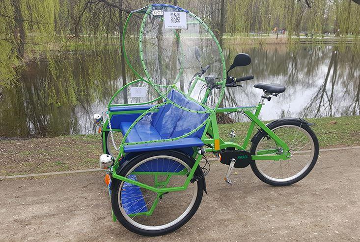 Kupić Pojazdy elektryczne, zamienniki meleksów - riksze elektryczne, rowery trzykołowe