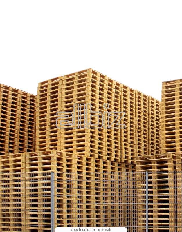 Kupić Palety drewniane na eksport, europalety na sprzedaż nowe