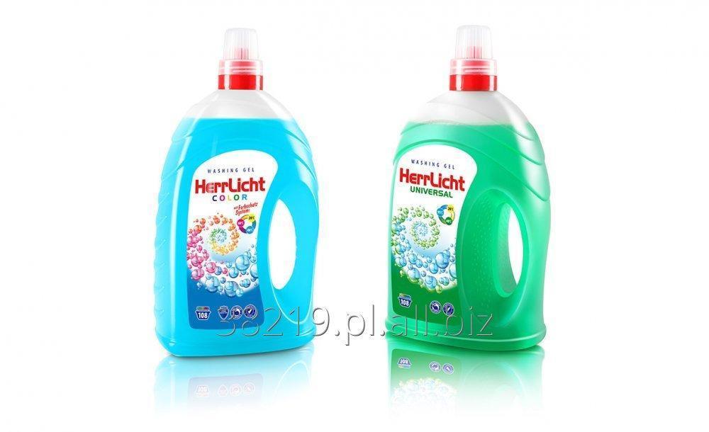 Kupić Żel do prania tkanin HerrLicht - kolor i uniwersalny 4L