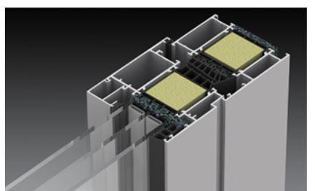 Kupić Profile aluminiowe z przekładką termiczną stosowane do produkcji okien