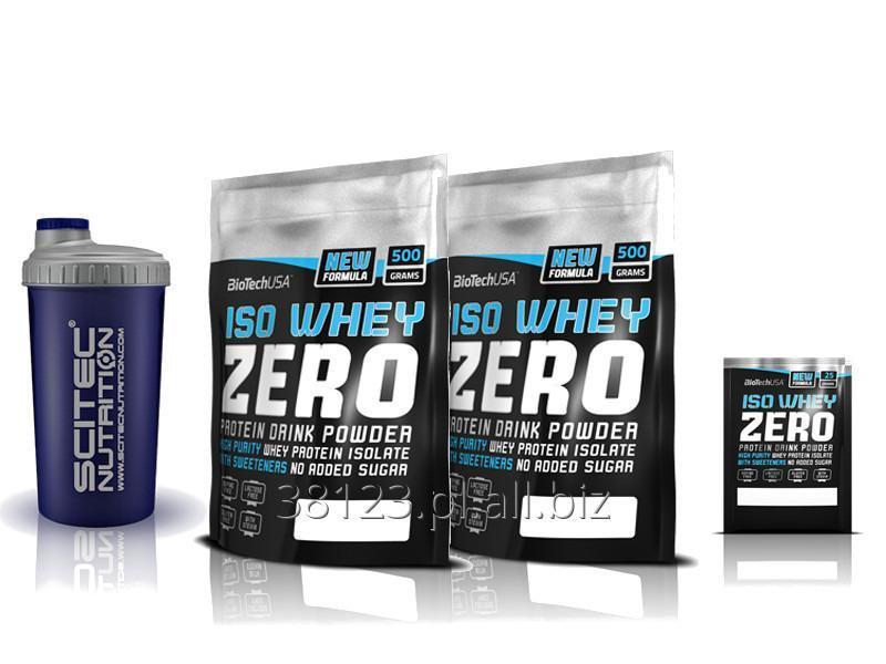 Kupić ISO Whey ZERO 2x500g = 1000g